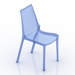Chair VANITY transparency plastic