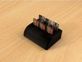 6 x Micro SD card holder