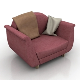 Armchair Warehouse 3d model download