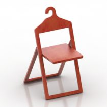 Chair Hanger Philippe Malouin 3d model