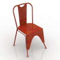 Chair Swoon Mercer 3d model