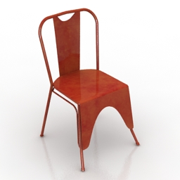 Chair Swoon Mercer 3d model