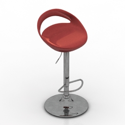Chair bar 3d model
