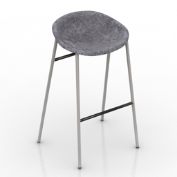 Chair bar De Vorm Prod 2 3d model