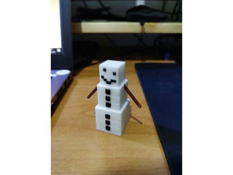 Minecraft Snow Golem