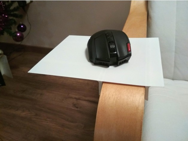 Mousepad for Ikea chair