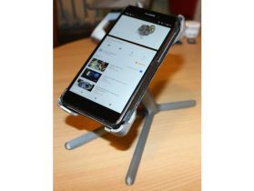 Rotary supports for smartphones up to 8x15 cm