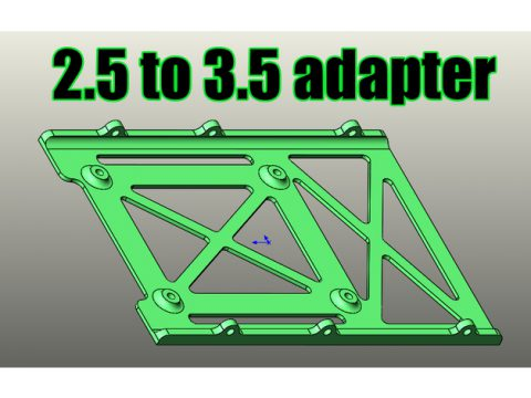 HDD/SSD 2.5 to 3.5 adapter