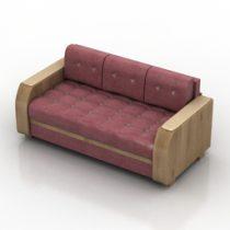 Sofa Atlant 3d model