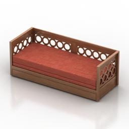 Sofa Bogota 3d model