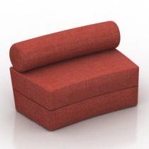 Sofa V Day Formdecor 3d model