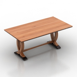 Table Malaysian 3d model