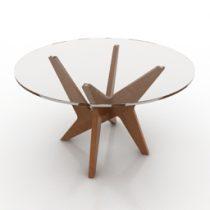 Table Retro Design 3d model