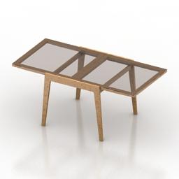 Table glass 3d model