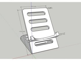 Universal Cell Phone Desk Holder