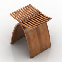 Chair HMI Capelli 3d model