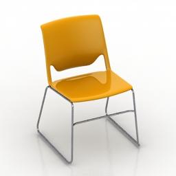 Chair haworth 3d model