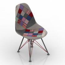 Chair patchwork Ammar Bako 3d model