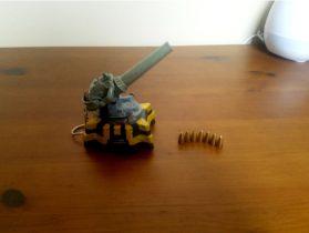 Factorio Artillery Cannon
