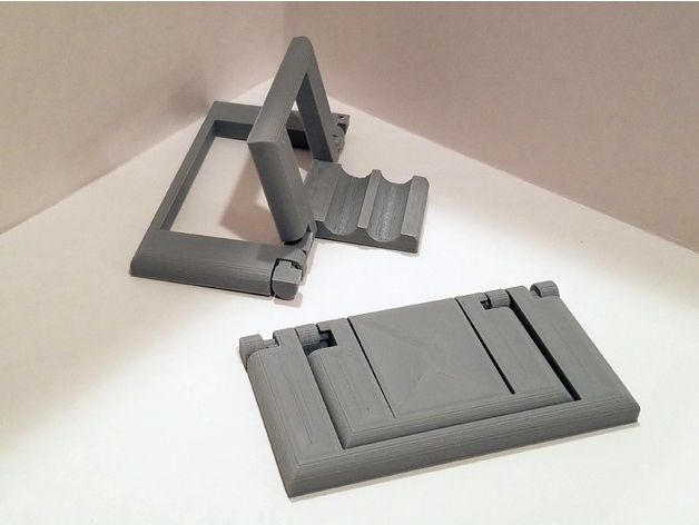 Parametric Folding Phone Stand