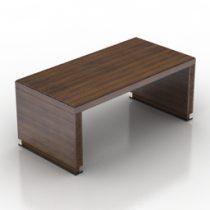 Table Ceccotti Scrivania Operativia 3d model