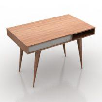 Table Celine Desk Nazanin Kamali 3d model
