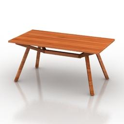 Table Dominous 3d model