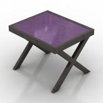 Table Tura X 3d model