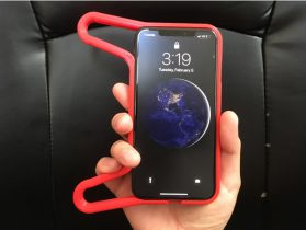 iPhone XS MAX Controller Case V5 NEON