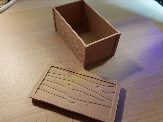 Little woodn box