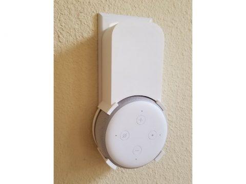Amazon Echo Dot (3rd Gen) Wall socket mount - v3