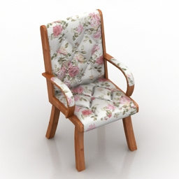 Armchair 3d model download