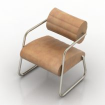 Armchair ClassiCon BONAPARTE 3d model