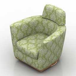 Armchair Tennessee Rapsody 3d model