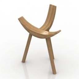 Chair Hiruki Alki 3d model