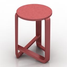 Chair Jo Stool Punt 3d model