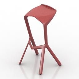Chair Muira 3d model