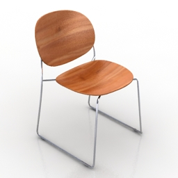 Chair Olive 3d model