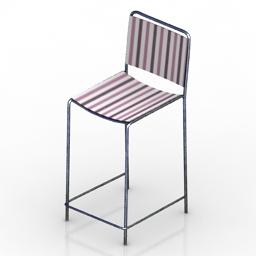 Chair bar Clarion Formdecor 3d model