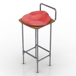 Chair bar 3d model