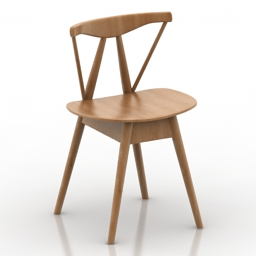 Chair root by Customform 3d model