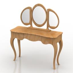 Dressing Table Rosalio-2 Dream Land 3d model