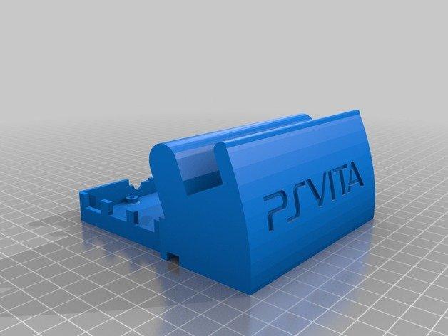 PS Vita Dock with Raspberry Pi enclosure | Free 3D models
