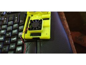 Raspberry Pi Cover with exhaust fan