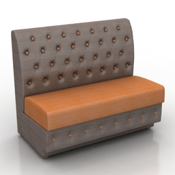Sofa faeton dls 3d model