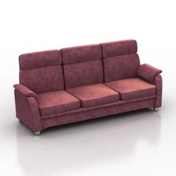 Sofa pohjanmaan pasadena 3d model