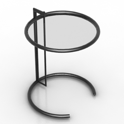 Table Eileen Gray Formdecor 3d model