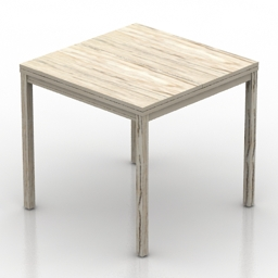 Table Twin 3d model
