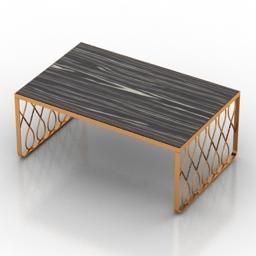 Table carlene 3d model