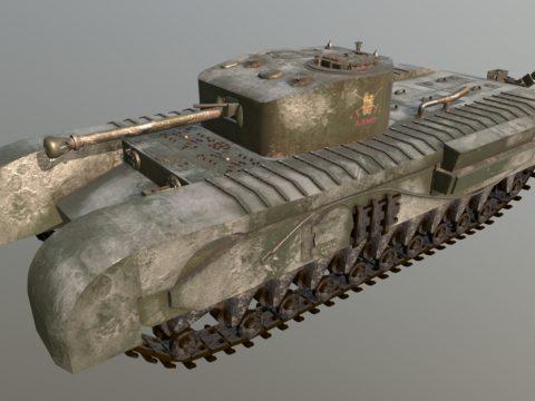 Tank Churchill VII (Modified)